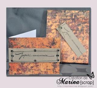 Marinascrap | Carte anniversaire homme