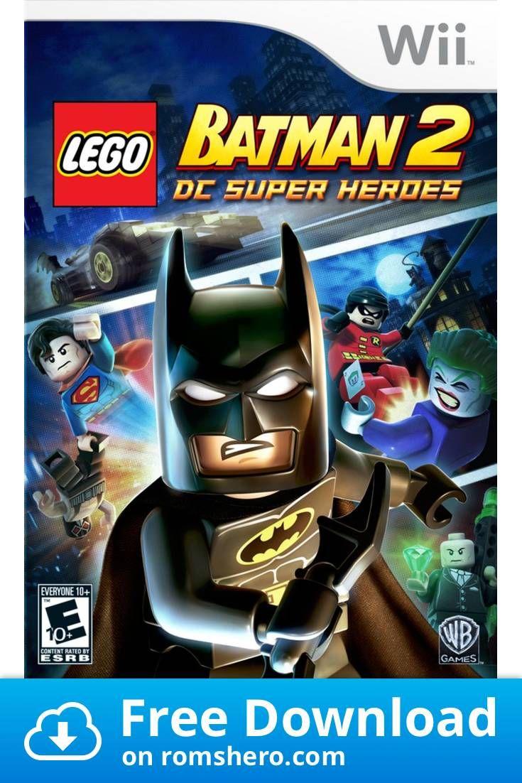 Download Lego Batman 2 Dc Super Heros Nintendo Wii Wii Isos Rom Lego Batman 2 Lego Batman Batman 2