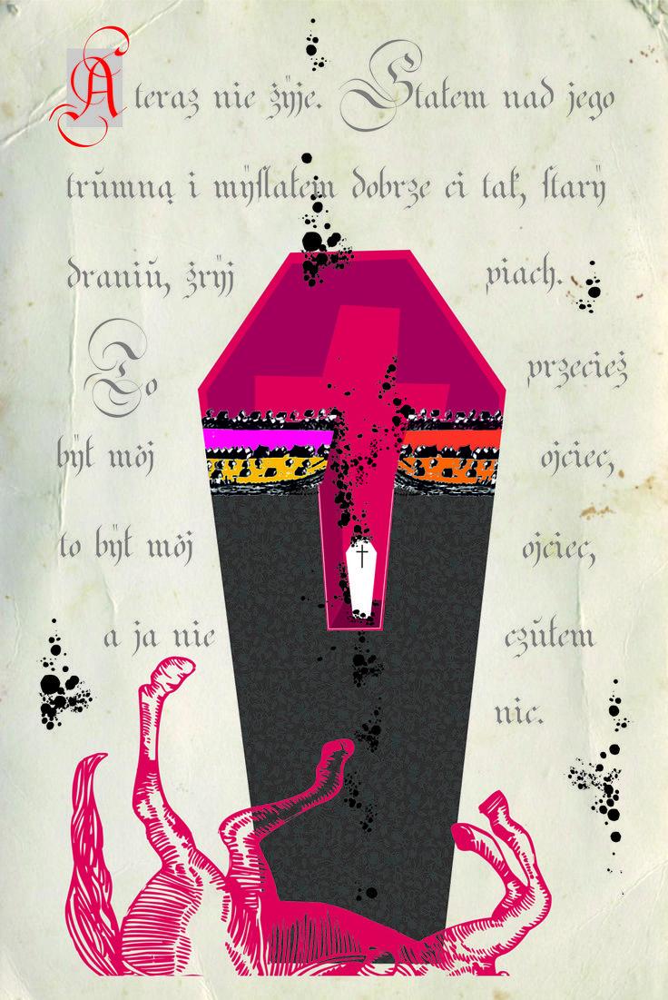 Illustration for Chimera Magazine 2015 www.hevolta.com
