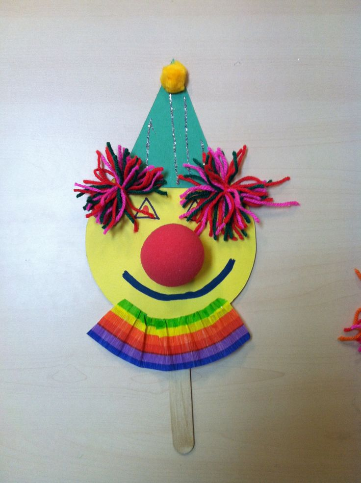 Clown Arts And Crafts