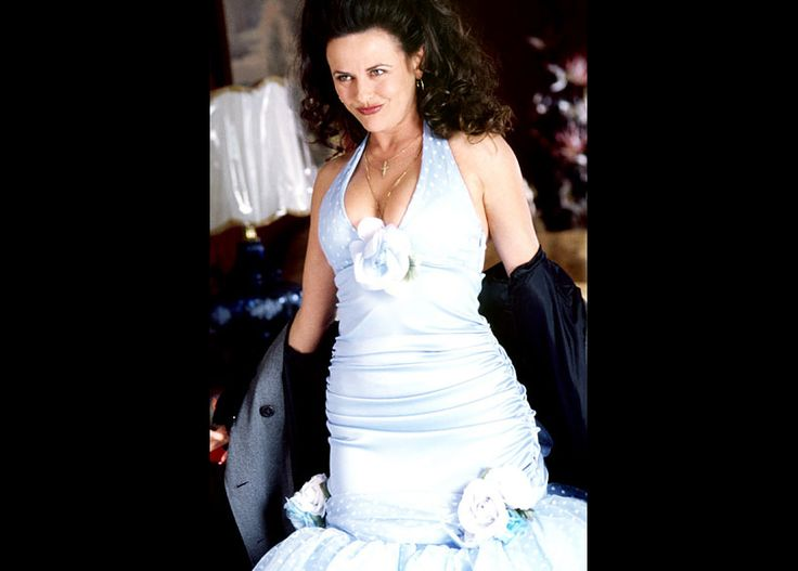 Pin For Later Always A Bridesmaid The Best Onscreen Wedding Parties My Big Fat Greek Cousin Nikki Gia Carides Unveils Quite Dress