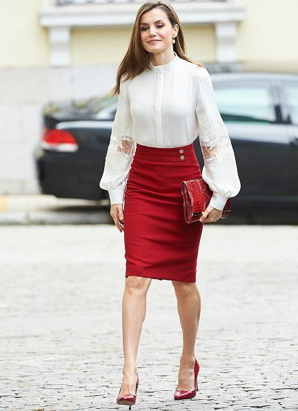 Queen Letizia of Spain attended events of 10th anniversary of the 'BBVA Microfinance' held at the headquarters of the BBVA Bank Foundation on May 29, 2017 in Madrid, Spain.