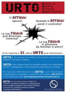 Servizio URTO - Usare la Rabbia Trovare Opportunità - Padova | PsicologiaePersona - Gabriele Bendinelli e Silvia Colombo | Padova