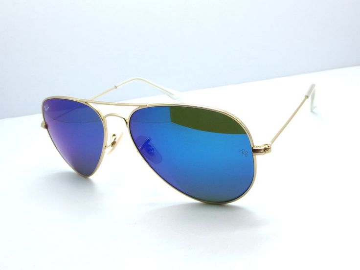 blue raybans k176  Blue Ray Ban aviators