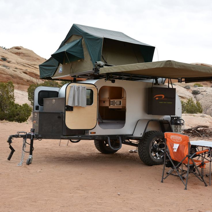 Even our towable trailers are getting smart. With innovative aerodynamic designs, rugged suspension systems, and wide-open skylights, these four high-tech trailers are ready for the open road.