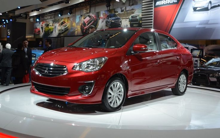 2017 Mitsubishi Mirage G4 Sedan Red Photo
