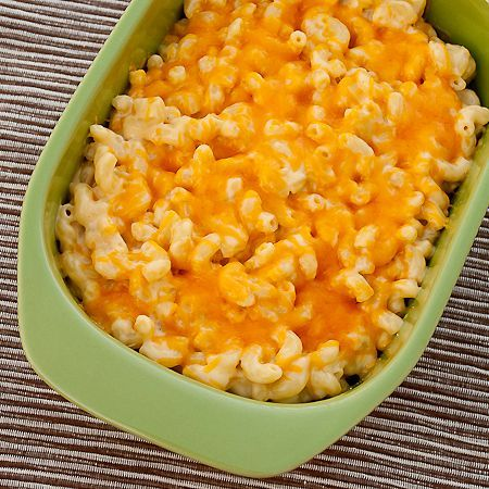 Pioneer Woman's Mac and Cheese. I made this last night...The best Mac and Cheese I have ever made!!! SO Creamy and Cheesy, not dry like some recipes. Easy too! Cheese, Flour, Egg, Milk, Noodles, dry mustard... That's about it!
