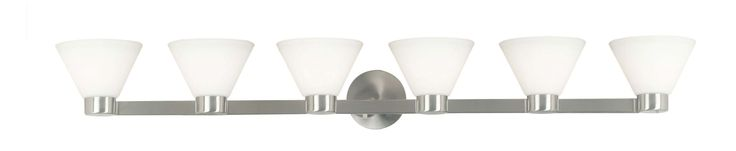 Kenroy Home 91796 Maxwell 6 Light Wall Sconce Brushed Steel Indoor Lighting Wall Sconces Reversible