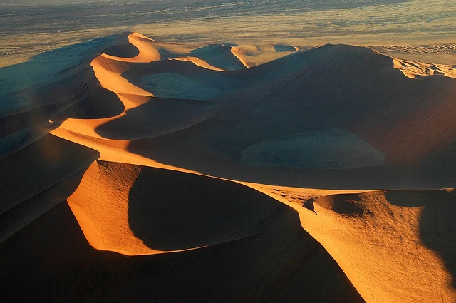 Walvis Bay, Namibia  The coastal town of Walvis Bay is Namibia's only major port city. This exquisite harbor city acts as a gateway to the vast Namib Desert, one of the oldest and most beautiful deserts on Earth, as well as to the historic German town of Swakopmund.