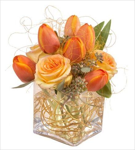 Fall Wedding Flower Arrangement | Fall Wedding Centerpieces - Fall Wedding Flowers