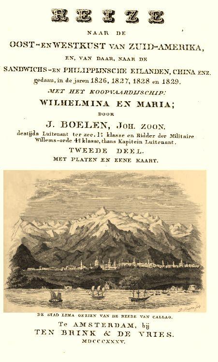 https://flic.kr/p/vBsrfK | Lima, por Jacobus Boelen Jhz.  en 1829 América del Sur - Descripciones y viajes | Lima, por Jacobus Boelen Jhz. 1791 te Amsterdam 1876 te Utrecht América del Sur - Descripciones y viajes