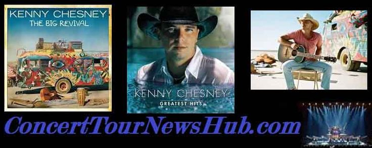 Kenny Chesney 2015 Big Revival Tour Schedule & Concert Tickets With Jason Aldean, Eric Church, Brantley Gilbert, Chase Rice & Cole Swindell