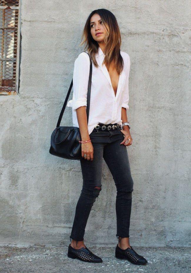 die besten 17 ideen zu schwarze jeans auf pinterest stil. Black Bedroom Furniture Sets. Home Design Ideas