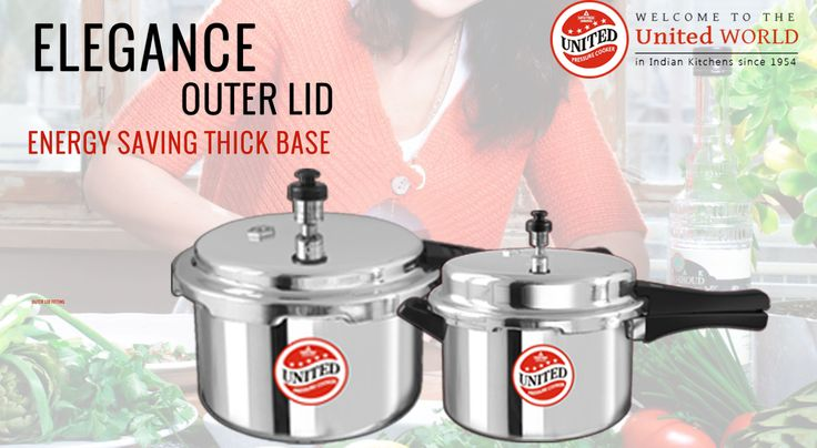 Buy 22 Litre Regular Aluminium Inner Lid Pressure Cooker Online India For More Info Visit At   http://goo.gl/eDyb9T