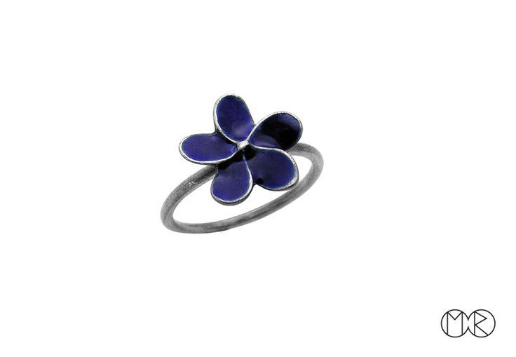 Silberschmuck - Silber Ring PLUMERIA von MartaRudnicka auf DaWanda.com