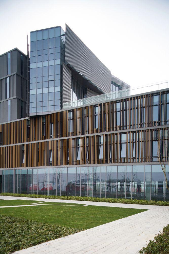 Parque Tecnológico Nanjing Hongfeng, Edifício A1,© Hou Zhiwei