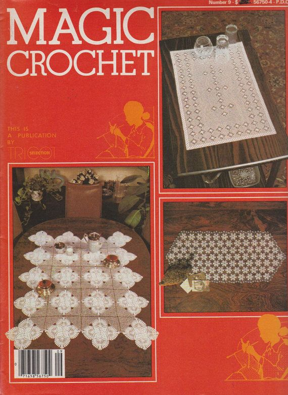 Magic Crochet Magazine Number 9 - pattern and instruction publication by Tricot Selections