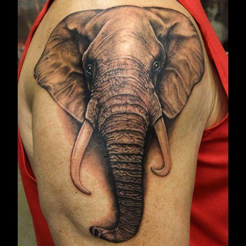 Significado da tatuagem de elefante 7