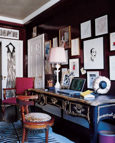 80 Peaceful Study Room Decorating Ideas: 82 Best Salon Style Walls Images On Pinterest