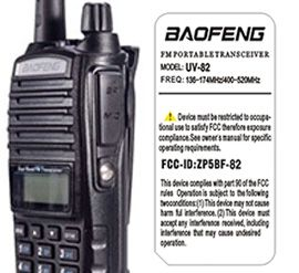BTECH GMRS Two Way Radio