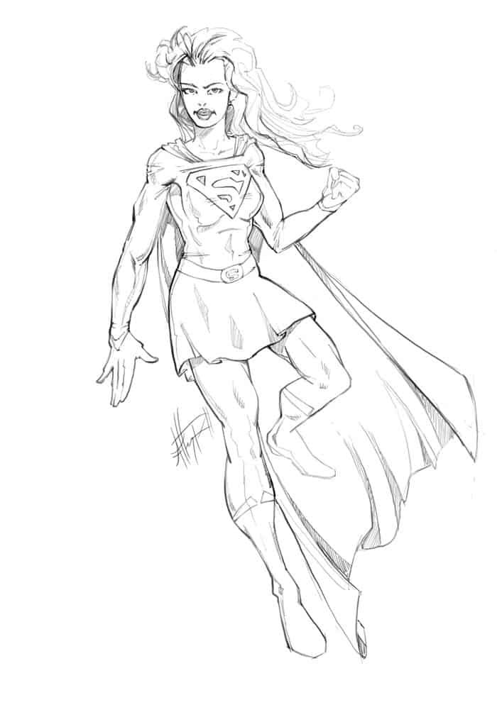 Supergirl Coloring Pages Free Online Mom Coloring Pages Cartoon Coloring Pages Superhero Coloring Pages
