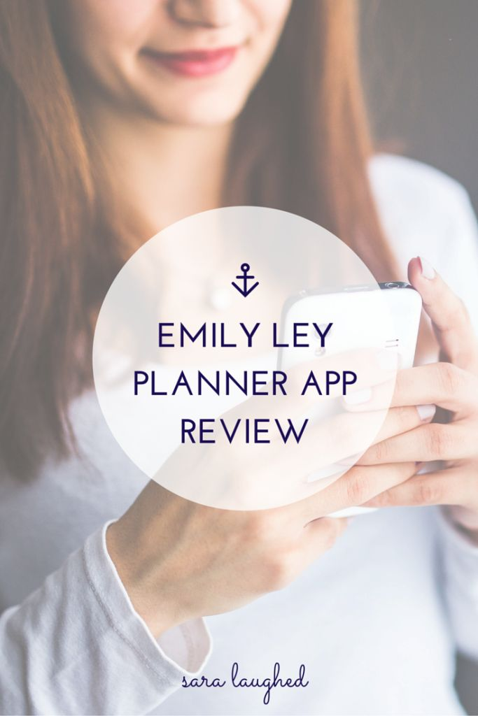 A college student's review of the new Emily Ley planner app!