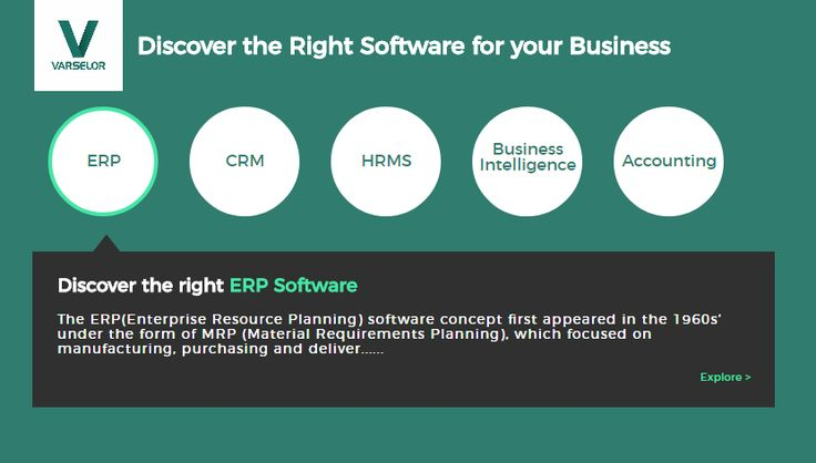 Choosing a piece of software and then ensuring its smooth implementation requires excellent project management skills. You need to complete certain steps before you can move on to the next one. You can't compare software products before you've worked out the crucial features your system must have. #Varselor #ERPSoftware #Dubai