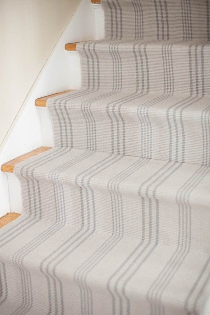 Captivating A Simple Guide To Making A DIY Stair Runner Using Area Rugs And Carpet Tape  For
