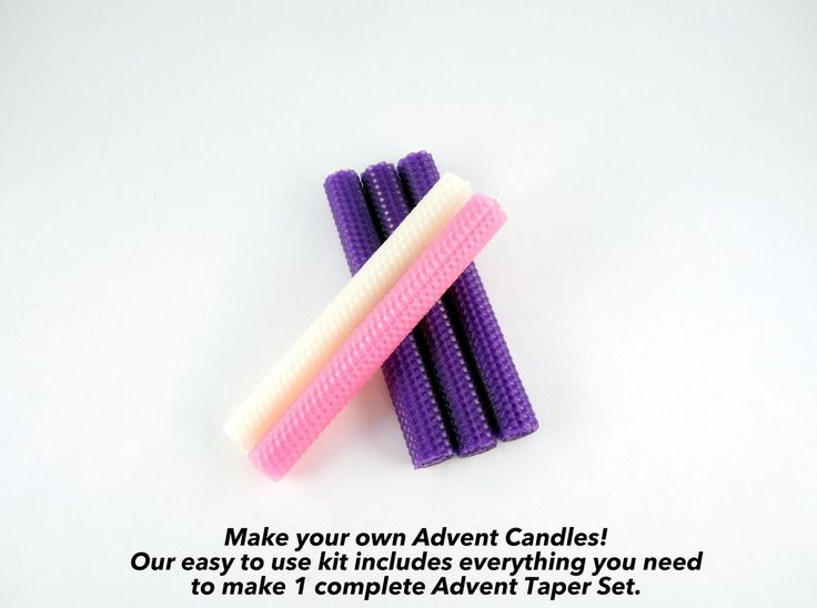 Toadily Handmade Beeswax Candles, LLC - Beeswax Advent Taper Candle Making Kit - Makes One Set, $15.99 (http://www.toadilyhandmadebeeswaxcandles.com/beeswax-advent-taper-candle-making-kit-makes-one-set/)
