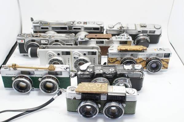 63★ ステレオカメラ 改造 結合 合体 マニア コレクション レア_画像1