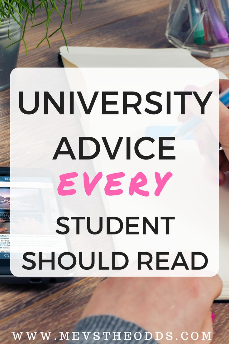 University getting the best of you? Here is some advice every student needs to read