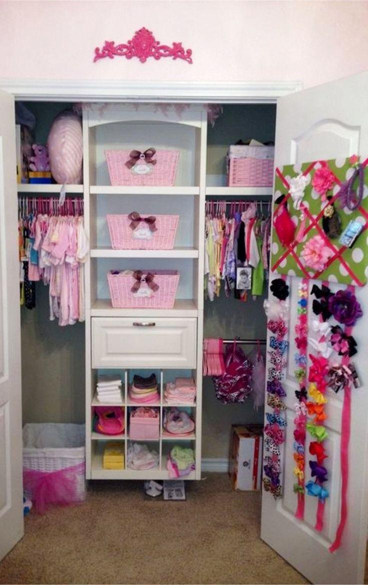 Best 25 Girls Closet Organization Ideas On Pinterest Kids Bedroom Organization Kids Room