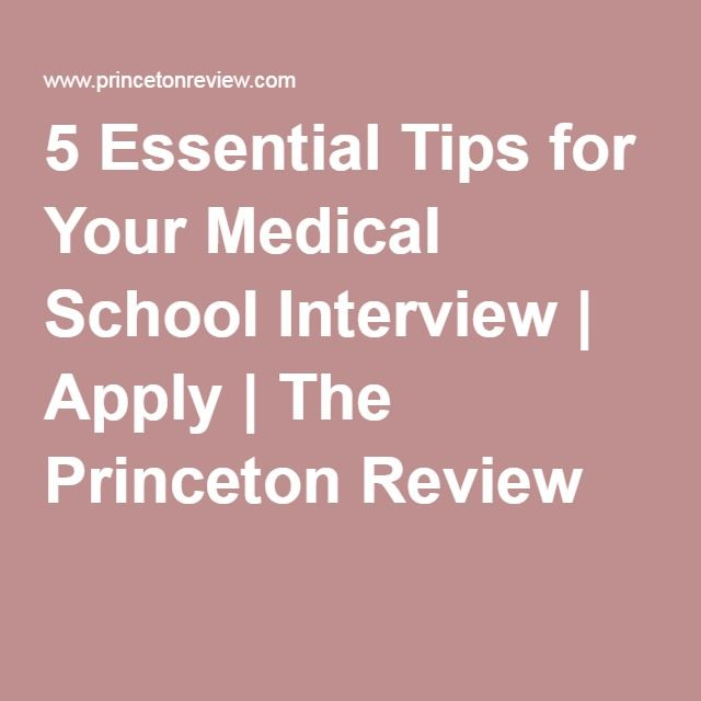 doctor interview questions