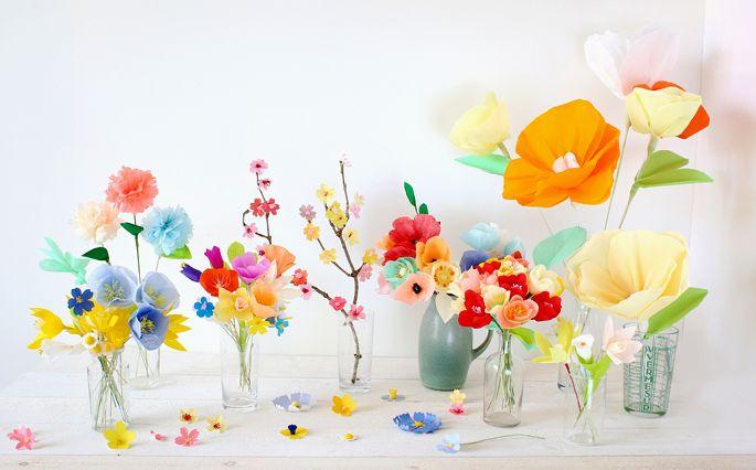 Adeline Klam - Ateliers fleurs en papier