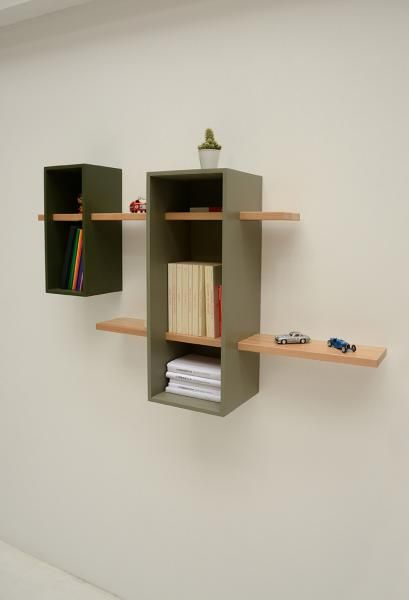 Max Bookcase, Double version by Olivier Chabaud for Compagnie, available at La Corbeille
