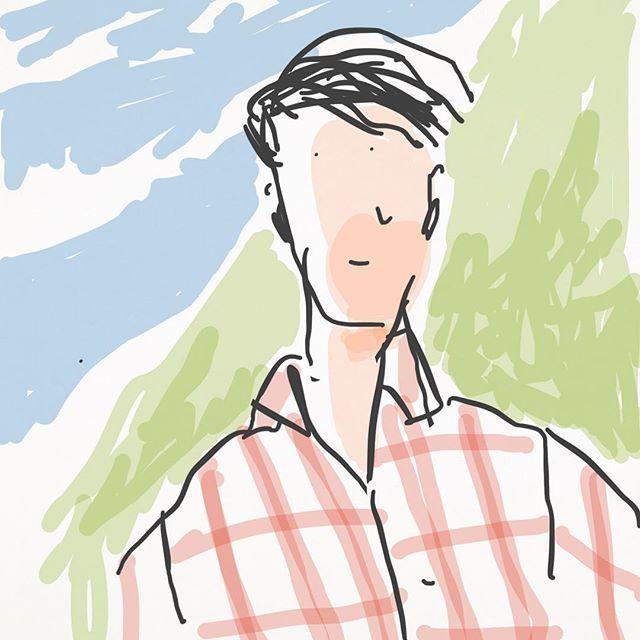 """Bruno from """"Le otto montagne"""" by Paolo Cognetti"""". Great Book #leottomontagne #leya #donquixote #pietro #milano #turin #grana #einaudi #monterosa #design #dessin #desenho #dibujo #illustrated #illustration #desenho #sketch #sketches #sketching #illustrated #illustration #digitalillustration #draw #drawing #drawings #desenho #paolocognetti #paint #painter #paintings #painter #asoitomontanhas #einaudieditore #dquixote #strega"""