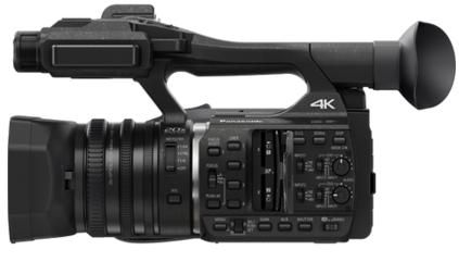 Features    Experience Amazing 4K Ultra HD in 24p Cinema or 60p Video Quality   High Bit Rate Quality (4K-150Mbps / 2K-200Mbps)   Built-in XLR Professional Audio Terminal   20X Leica Lens with…
