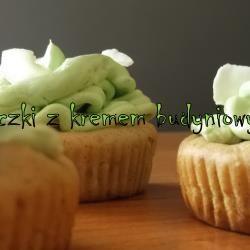 Miętowe babeczki z kremem budyniowym @ allrecipes.pl