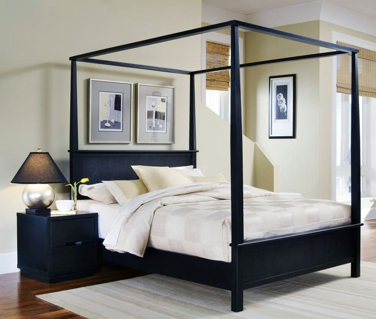 33 Canopy Beds And Canopy Ideas For Your Bedroom: Best 10+ Black Canopy Beds Ideas On Pinterest