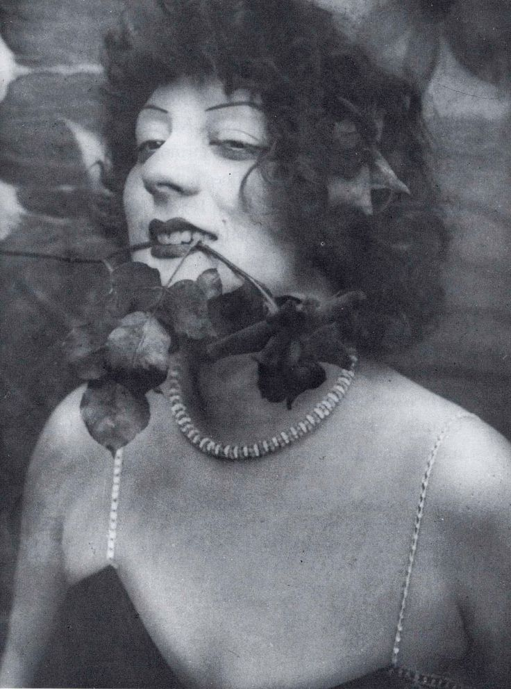 Kiki de Montparnasse - 1925 - Queen of Montparnasse - French artist model, nightclub singer, actress, memoirist, and painter. She flourished in, and helped define, the liberated culture of Paris in the early 1920's