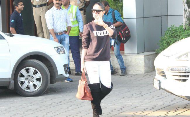 Amrita Arora's birthday celebrations done. Kareena Kapoor, Saif Ali Khan, Karisma Kapoor are back to Mumbai