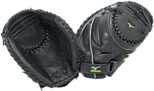 Mizuno MVP Prime GXS53 Fastpitch Catcher's Mitt, Black , 34-Inch, Right Handed Throw by Mizuno. $81.57. Buying Guide                Amazon.com Baseball and Softball Glove Guide Playing the Field Baseball and softball gloves are specially designed to suit the needs of a given field position, with each style of glove boasting unique features to improve a player's performance at his or her position. The following is a brief summary of each glove's characteristics:  Catc...