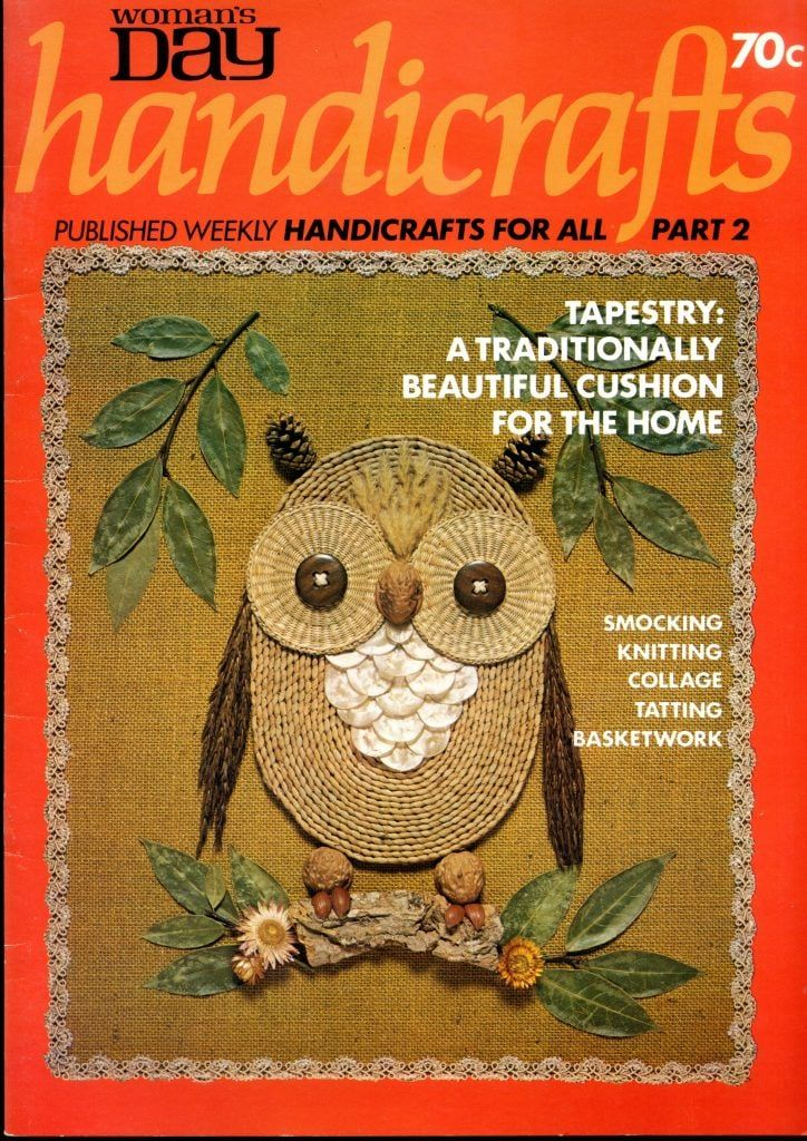 Womans Day Handicrafts Vintage Craft Vintage Crafts Handicraft