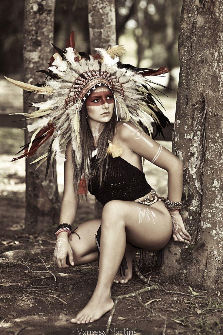 nude native american photoshoot