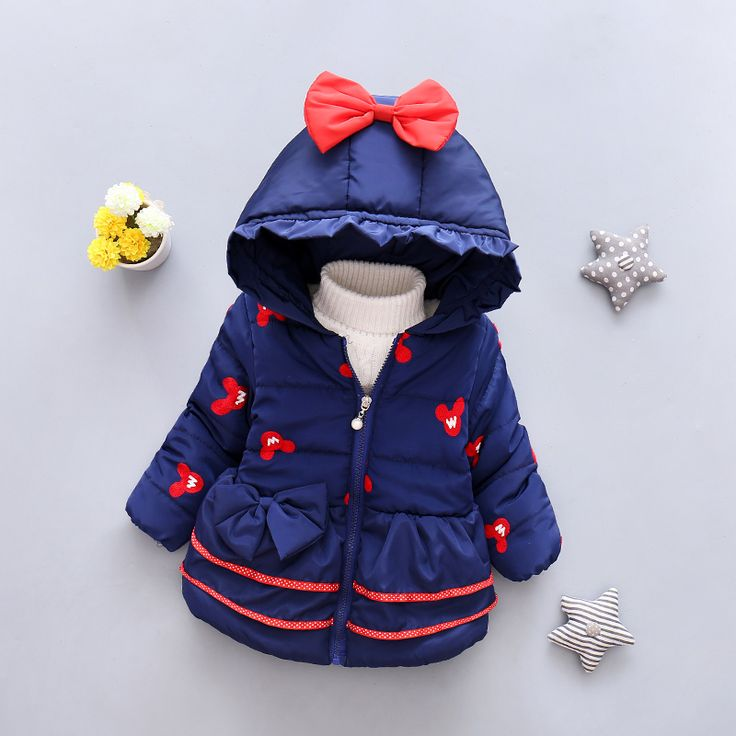 Nice LZH Baby Girls Jacket 2017 Autumn Winter Jacker For Girls Winter Coat Kids Warm Hooded Children Outerwear Coat For Girls Clothes - $35.04 - Buy it Now!