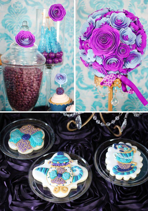 Ever After High, the hot new tween trend, is featured with a styled dessert table inspired by Ever After High's character, Madeline Hatter.