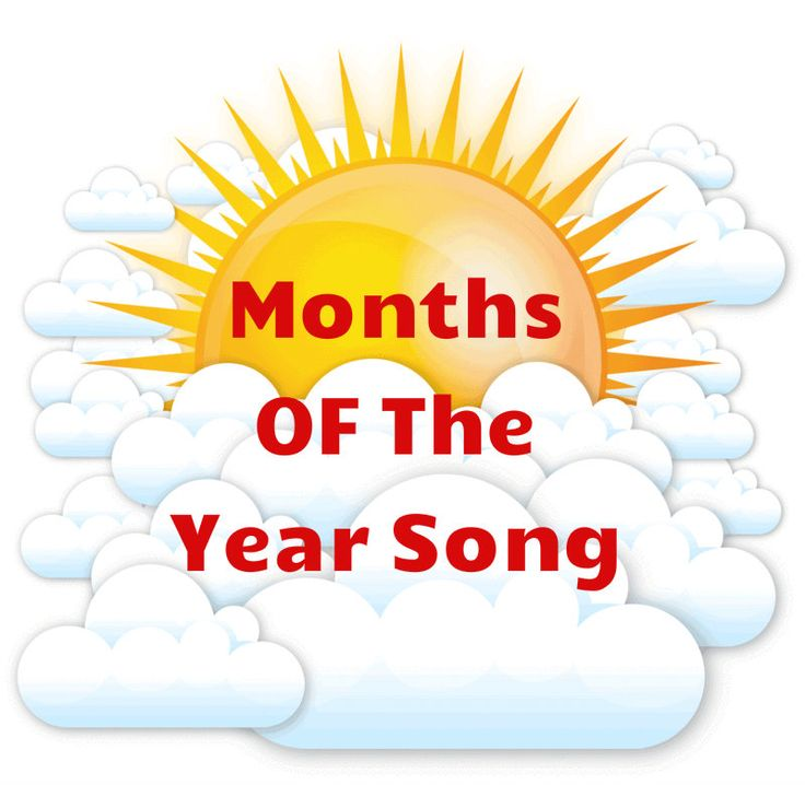 Teaching Months of the Year With Songs and Activities