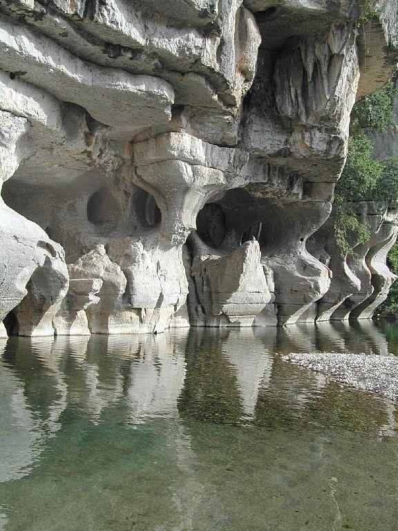 La Beaume, l'Ardèche , le chassezac