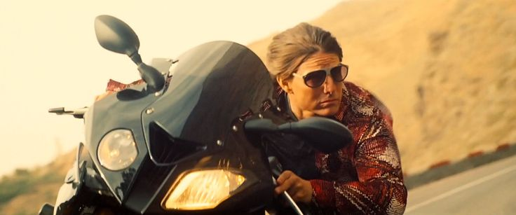 L.G.R. Comoros sunglasses worn by and BMW S 1000 RR (2010) motorcycle driven by Tom Cruise in MISSION: IMPOSSIBLE - ROGUE NATION (2015) #BMW @lgreyewear