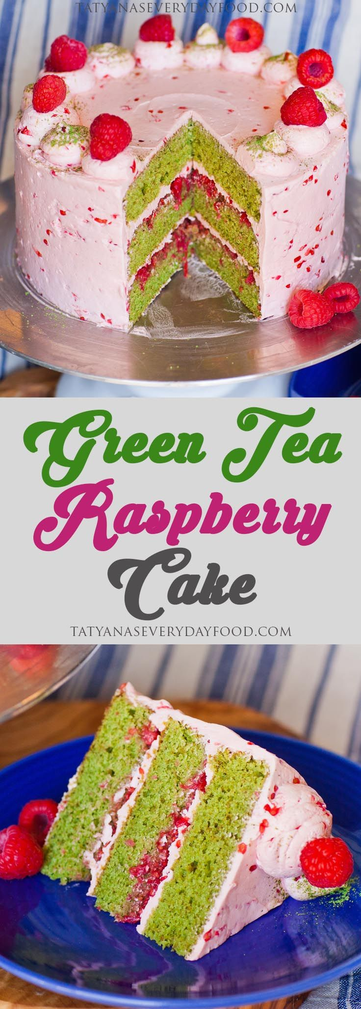 Green tea cakes are the newest novelty but this green tea cake takes the cake, literally! My green tea cake is loaded with fresh raspberries on the inside and frosted with a creamy raspberry buttercream! The green tea flavor is made intense by adding lots of matcha tea powder right into the cake batter. If […]